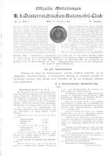 Allgemeine Automobil-Zeitung 19141227 Seite: 1