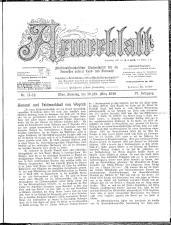 Armeeblatt: militär-wiss. Wochens. ...unserer Land- u. Seemacht