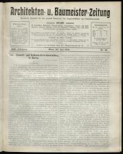 Architekten- und Baumeister-Zeitung