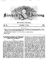 Allgemeine Kirchen - Zeitung