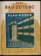 Allgemeine Bauzeitung: Fachblatt für die gesamte Bauwirtschaft