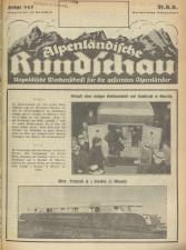 Alpenländische Rundschau