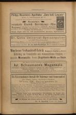 Anzeigenband zu 'Zeitschrift des allgemeinen österreichischen Apotheker-Vereines' 18930420 Seite: 10
