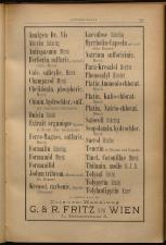 Anzeigenband zu 'Zeitschrift des allgemeinen österreichischen Apotheker-Vereines' 18930420 Seite: 13