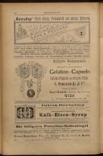 Anzeigenband zu 'Zeitschrift des allgemeinen österreichischen Apotheker-Vereines' 18930420 Seite: 14