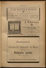 Anzeigenband zu 'Zeitschrift des allgemeinen österreichischen Apotheker-Vereines' 18930420 Seite: 15