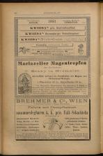 Anzeigenband zu 'Zeitschrift des allgemeinen österreichischen Apotheker-Vereines' 18930420 Seite: 16