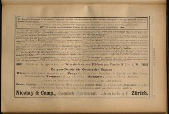 Anzeigenband zu 'Zeitschrift des allgemeinen österreichischen Apotheker-Vereines' 18930420 Seite: 21