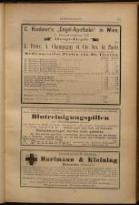 Anzeigenband zu 'Zeitschrift des allgemeinen österreichischen Apotheker-Vereines' 18930420 Seite: 5