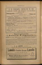 Anzeigenband zu 'Zeitschrift des allgemeinen österreichischen Apotheker-Vereines' 18930420 Seite: 6