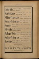 Anzeigenband zu 'Zeitschrift des allgemeinen österreichischen Apotheker-Vereines' 18930620 Seite: 11