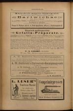 Anzeigenband zu 'Zeitschrift des allgemeinen österreichischen Apotheker-Vereines' 18930620 Seite: 14