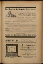 Anzeigenband zu 'Zeitschrift des allgemeinen österreichischen Apotheker-Vereines' 18930620 Seite: 15