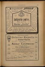 Anzeigenband zu 'Zeitschrift des allgemeinen österreichischen Apotheker-Vereines' 18930620 Seite: 3