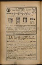 Anzeigenband zu 'Zeitschrift des allgemeinen österreichischen Apotheker-Vereines' 18930620 Seite: 6
