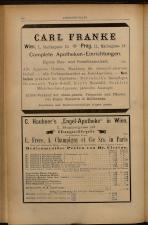 Anzeigenband zu 'Zeitschrift des allgemeinen österreichischen Apotheker-Vereines' 18930620 Seite: 8