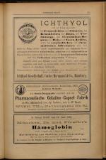 Anzeigenband zu 'Zeitschrift des allgemeinen österreichischen Apotheker-Vereines' 18930620 Seite: 9