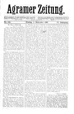 Agramer Zeitung