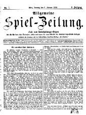 Allgemeine Spiel-Zeitung