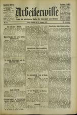 Arbeiterwille 19250215 Seite: 1