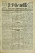 Arbeiterwille 19250712 Seite: 1