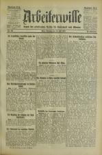 Arbeiterwille 19250714 Seite: 1