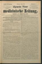 Allgemeine Wiener medizinische Zeitung