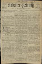 Arbeiter Zeitung 18930106 Seite: 1