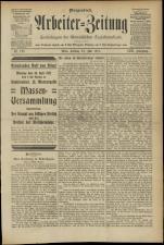 Arbeiter Zeitung 19110721 Seite: 1