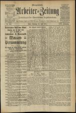 Arbeiter Zeitung 19110723 Seite: 1