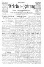 Arbeiter Zeitung 19170424 Seite: 1