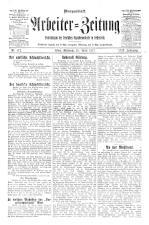 Arbeiter Zeitung 19170425 Seite: 1