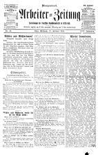 Arbeiter Zeitung 19190212 Seite: 1