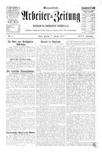 Arbeiter Zeitung 19250102 Seite: 1
