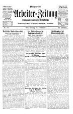 Arbeiter Zeitung 19271022 Seite: 1