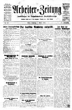 Arbeiter Zeitung 19280401 Seite: 1