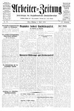 Arbeiter Zeitung 19280402 Seite: 1