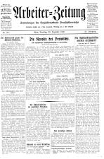 Arbeiter Zeitung 19301230 Seite: 1