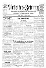 Arbeiter Zeitung 19330106 Seite: 1