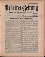 Arbeiter Zeitung 19360712 Seite: 1