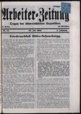 Arbeiter Zeitung 19360722 Seite: 1