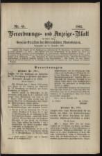 Verordnungs- und Anzeige-Blatt der k.k. General-Direction der österr. Staatsbahnen 18921231 Seite: 1