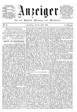 Bludenzer Anzeiger 18930624 Seite: 1