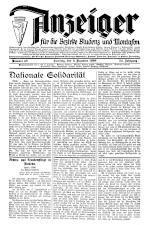 Bludenzer Anzeiger 19381203 Seite: 1