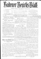 Badener Bezirks-Blatt 18921229 Seite: 1