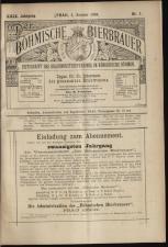 Der Böhmische Bierbrauer 18930101 Seite: 1