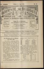 Der Böhmische Bierbrauer