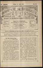 Der Böhmische Bierbrauer 18930715 Seite: 1