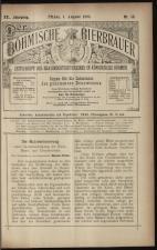 Der Böhmische Bierbrauer 18930801 Seite: 1