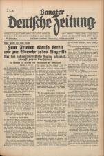 Banater Deutsche Zeitung 19381110 Seite: 1